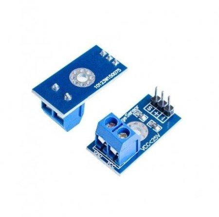 Moduł czujnika napięcia DC 0-25V - dzielnik napięcia 5V/25V - Arduino