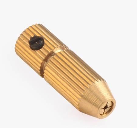 Uchwyt do Mini Wiertarki na wiertła od 1.3mm do 2.5mm - głowica wiertła na oś 3.17mm
