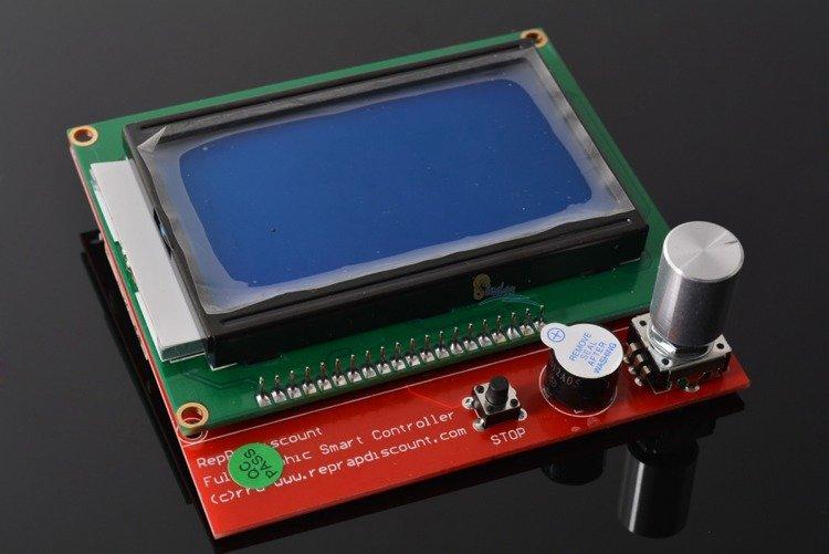 Panel kontrolny 12864 LCD Controller dla RAMPS 1 4 z czytnikiem kart SD -  Zestaw RepRap 3D