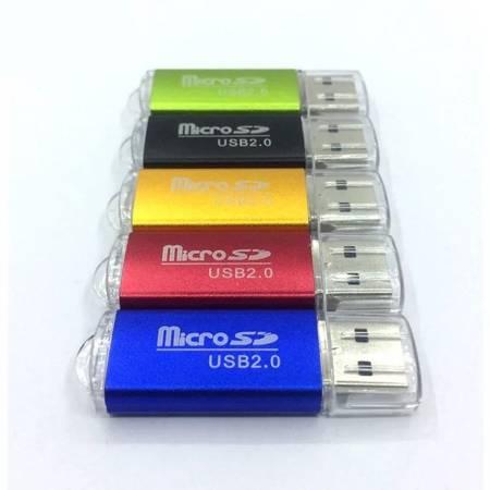 Adapter USB2.0 na Micro SD - Czytnik kart pamięci MicroSD TF - mix kolorów