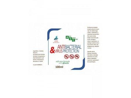 Antybakteryjny Areozol do Rąk 100ml z Alkoholem - do dezynfekcji