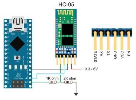 Bluetooth HC-05 - master/slave - moduł do APM i AlexMos - Arduino