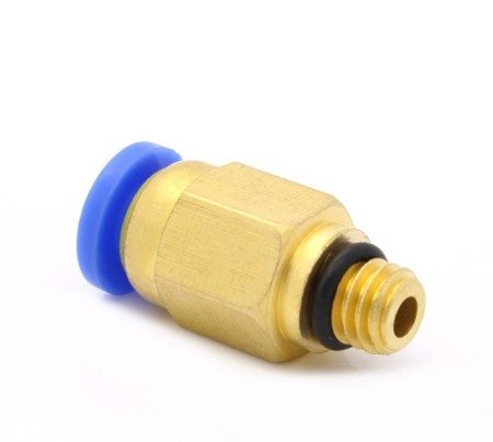 Bowden złącze - końcówka pneumatyczna PC4-M6 V1 - 4mm - Drukarka 3D