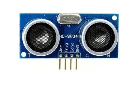 Czujnik HC-SR04 - ultradźwiękowy pomiar odległości 2-400 cm