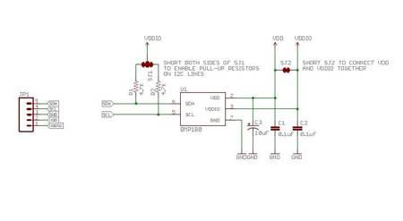Czujnik ciśnienia i temperatury GY-68 BMP180 - barometr na I2C do Arduino