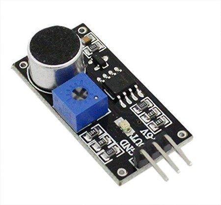 Czujnik dźwięku USPRO® LM393 - detektor hałasu do Arduino