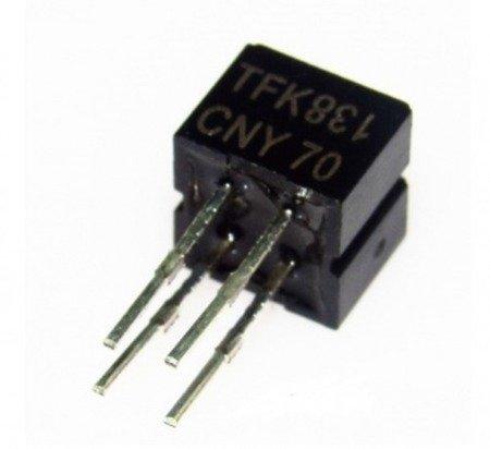 Czujnik optyczny CNY70 - czujnik odbiciowy - DIP-4