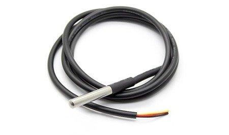 Czujnik temperatury DS18B20 wodoodporny przewód 1mb - Arduino