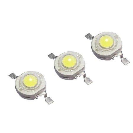 Dioda Power LED - 1W - 95-110lm - światło białe ciepłe - 3050-3250K - SMD