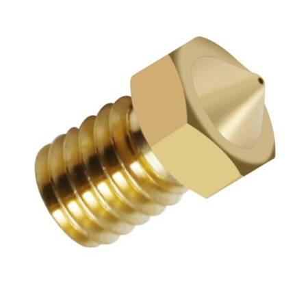 Dysza 0,3mm M6 - Filament 1,75mm - H12.5mm - mały stożek - RepRap E3D V5 V6