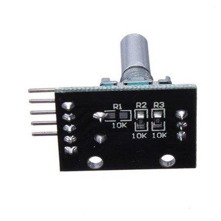 Encoder impulsator KY-040 - rotary enkoder AVR ARDUINO