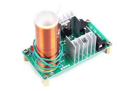 Generator Tesli 15W - DC 15-24V - DIY - generator wysokiego napięcia do samodzielnego złożenia