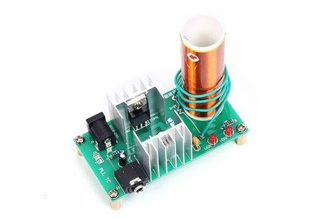 Generator Tesli 15W - DC 15-24V - DIY - wersja audio - generator wysokiego napięcia
