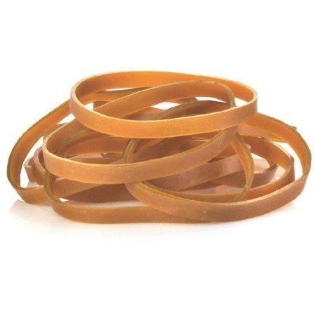Guma modelarska - pierścień 100mm - z silikonem - brązowa