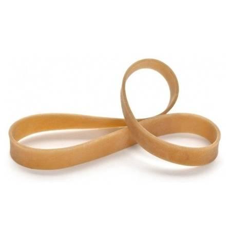 Guma modelarska - pierścień 150mm - z silikonem - brązowa