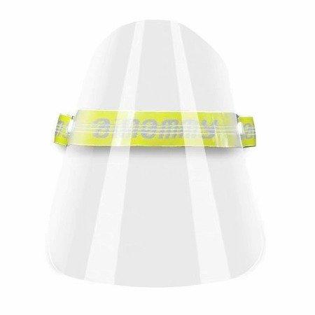 HURT 10 szt - Przyłbica ochronna na twarz - popiel - osłona antyrozpryskowa - maska izolacyjna