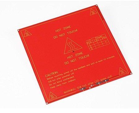 Heatbed MK2B - grzałka stołu do drukarek RepRap 3D