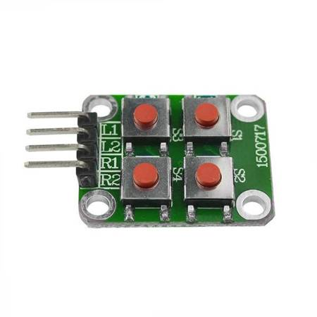 Klawiatura TACT 2x2 switch - matryca 4 przyciski do Arduino