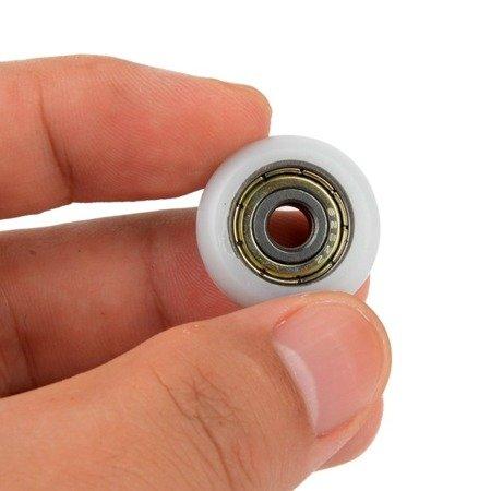Koło prowadnicy 6x26x7mm - oś 6mm - nylonowe - Do dukarek 3D i maszyn