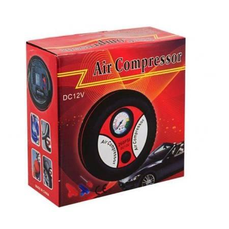 Kompresor 12V Mini sprężarka powietrza 260PSI - przenośna pompka samochodowa
