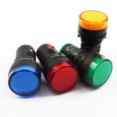 Kontrolka LED czerwona - AD16-22DS - lampka sygnalizacyjna