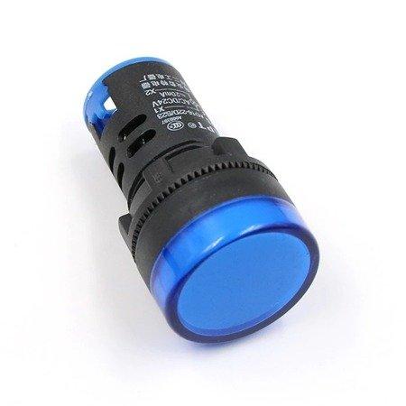 Kontrolka LED niebieska - AD16-22DS - lampka sygnalizacyjna