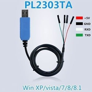 Konwerter PL2303TA - USB-UART/RS232 - z przewodem 100cm - Arduino