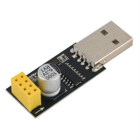 Konwerter USB - UART do ESP8266 - ESP01 Programmer Adapter