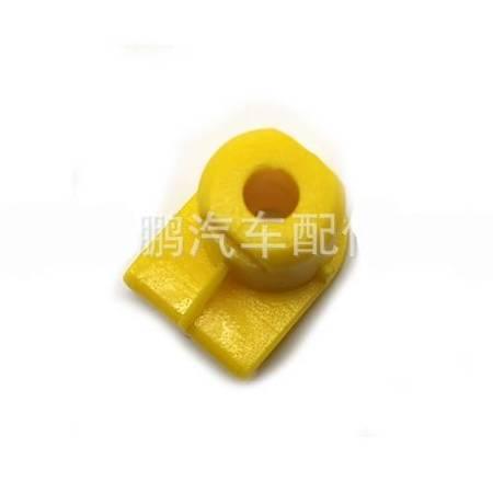Kostka montażowa zderzaka nadkola 5.5x8mm - żółty - Spinki osłon nadwozia - 10szt