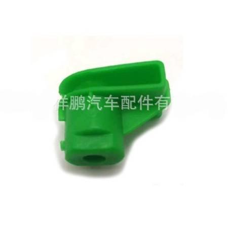 Kostka montażowa zderzaka nadkola 7x10mm - zielony - Spinka osłon nadwozia - 10szt