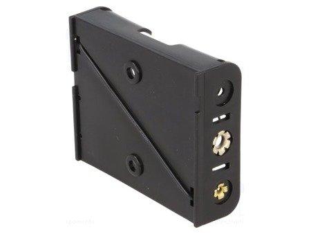 Koszyk na baterie 3xAA (R6) - koszyczek płaski otwarty BH-331-3D