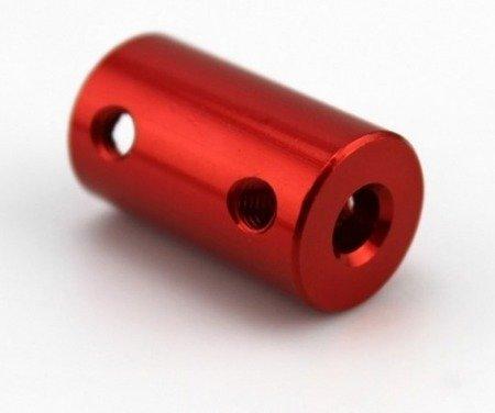 Łącznik osi - adapter z 6mm na 8mm - na wał silnika - oś