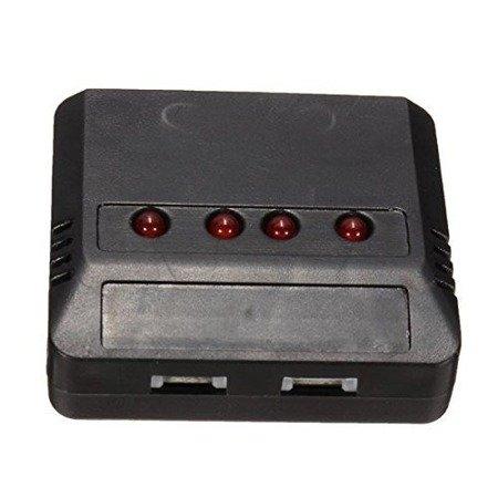 Ładowarka na 4x Lipol 1S 3,7V - wyjścia Molex 51005