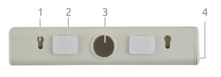 Lampka LED - LS6085 - samoprzylepna - magnes - haczyk - 2 poziomy jasności