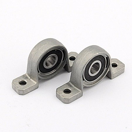 Łożysko samonastawne w aluminiowej obudowie - KP08 - 8mm - podpora wałka
