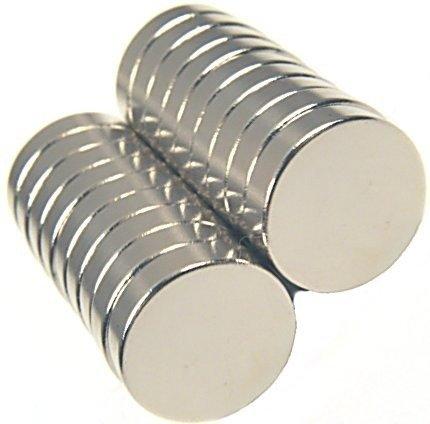 Magnes 8x3mm walcowy N38 - neodymowy