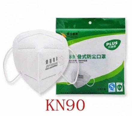 Maseczka ochronna KN90 - FFP1 - filtracja 90% - maska przeciwpyłowa