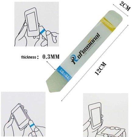 Metalowy otwierak do obudów - TE-03 - profesjonalne narzędzie do otwierania