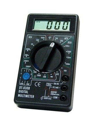 Miernik Uniwersalny DT-830B - wielozakresowy multimetr