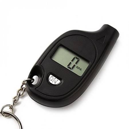 Miernik ciśnienia w oponach - Mini cyfrowy ciśnieniomierz - Brelok