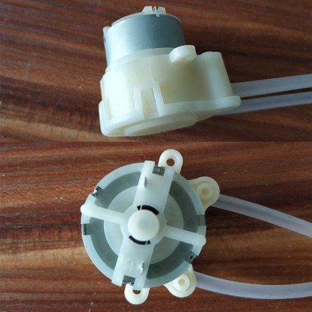 Mini Pompa dozująca - DC 3.7V / 6V - pompka perystaltyczna z rurką silikonowa