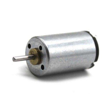 Mini silnik szczotkowy 1220 1.5mm - 9500RPM - 6V - do pojazdów i projektów DIY