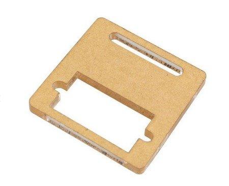 Mocowanie serwa 9g (SG90) - ramka plexi 36x35 + śrubki