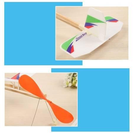 Model gumówki Sky Touch 470mm - samolot z napędem gumowym dla dzieci