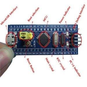 Moduł ARM STM32F103C8T6 Cortex-M3 - STM32 minimum system