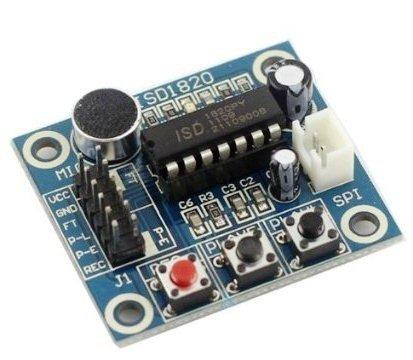 Moduł ISD1820 z głośnikiem - nagrywarka i odtwarzacz wiadomości - Arduino