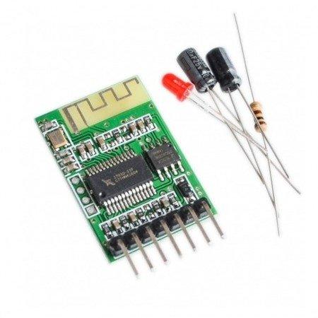 Moduł Odbiornika Bluetooth Audio - 5V - do głośnika bezprzewodowego DIY