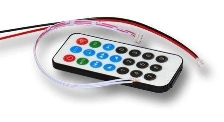 Moduł audio odtwarzacz MP3 z wyświetlaczem LED - 6-12V - USB - SD - FM - Bluetooth + pilot
