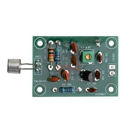 Moduł mikrofonu bezprzewodowego 91-103MHz - 3-5V - mini nadajnik FM