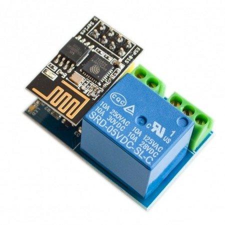 Moduł przekaźnika 5V z ESP8266 Wi-Fi - do zdalnego sterowania urządzeniami, projektów DIY